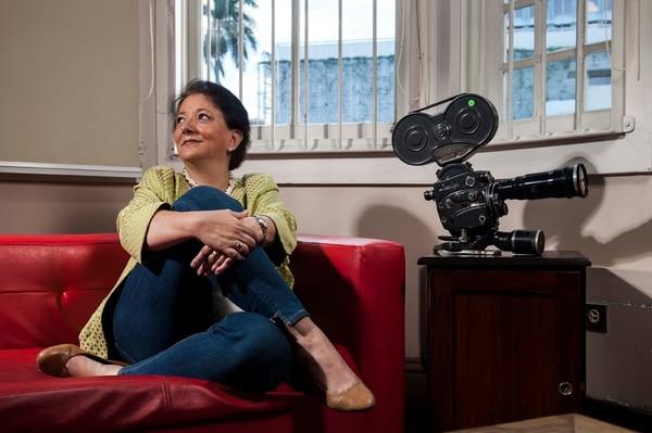 María Lourdes Cortés conoce bien el cine, incluso trabajó un tiempo en producción y fue directora del Centro de Cine.
