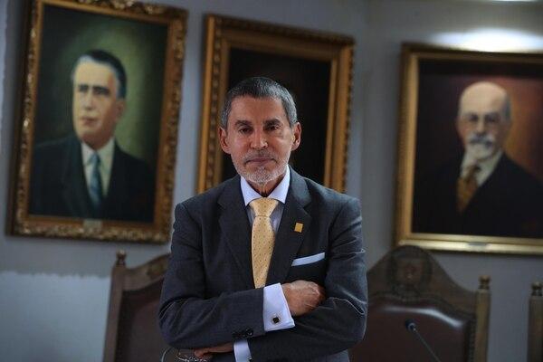 Jorge Vargas Espinoza, quien antes militaba en Alianza por San José y ahora se declara independiente, presidirá el Concejo de la Municipalidad capitalina, en los dos años que quedan del actual periodo., Fotografia: Graciela Solis