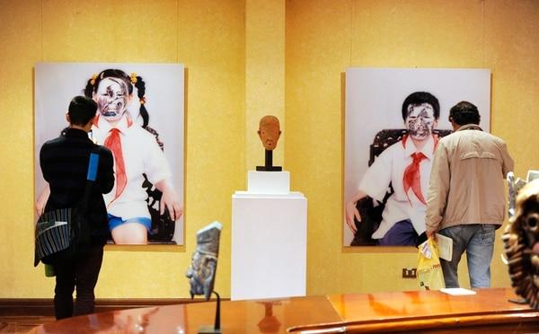 China. Artistas chinos contemporáneos como Huang Yan tendrán su espacio en la exhibición. Esta es la obra Brothers and Sisters . Marvin Caravaca