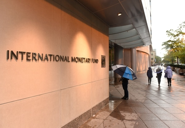 Edificio del Fondo Monetario Internacional, FMI. Crédito: Shutterstock