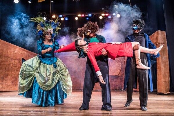 'Yo soy Pinocho' es una adaptación que hizo el dramaturgo costarricense José Fernando Álvarez de la novela italiana 'Las aventuras de Pinocho'. Fotografía: Cortesía Espressivo.