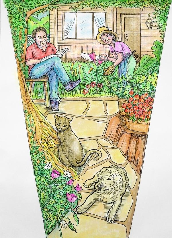 Tinta Fresca Jardín