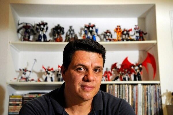 La especialidad de Harry Boschini son las figuras de Mazinger Z. En ellas ha gastado cerca de $2.500 desde que empezó la colección, hace cinco años. Su figura favorita es la del personaje Granada, de una edición especial de la serie 'Future'.