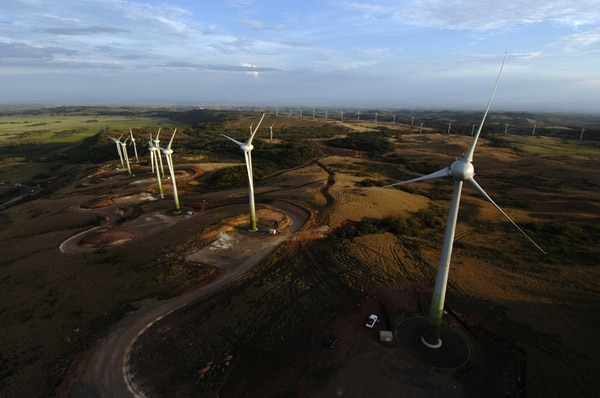 La energía renovable recibió $214.400 millones en 2013. | ARCHIVO