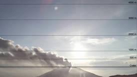 Volcán Turrialba expulsa ceniza y gases nuevamente