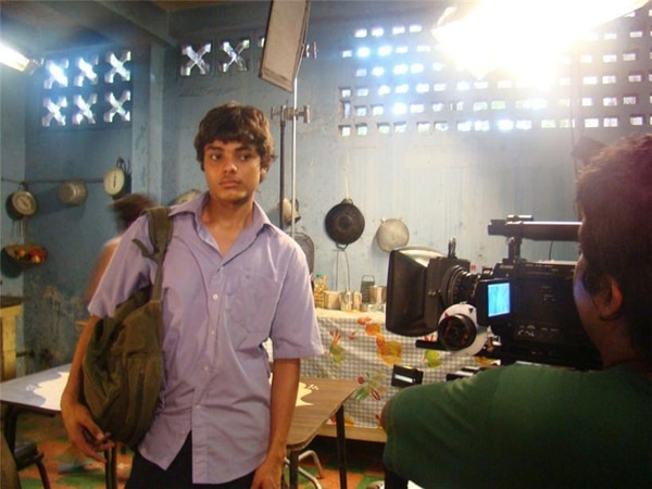 El actor Jason Daniel Pérez encarna a Daniel, en Puerto Padre . Archivo
