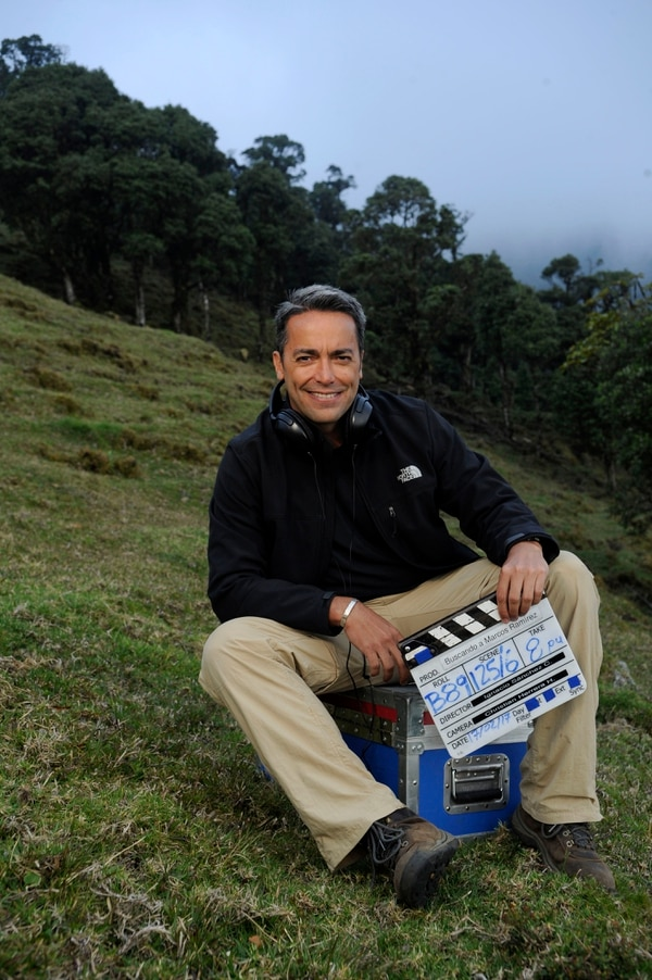 17/02/2016 Cerro Pico Blanco, San Antonio de Escazú.Retratos a Ignacio Sánchez, quie incursiona como Director de Películas con