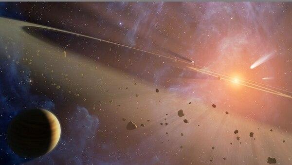espacio, asteroides, planetas, sistema solar, nasa
