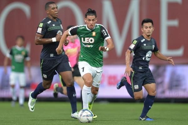 Ariel Rodróguez es uno de los principales goleadores en Tailandia y ha marcado 18 tantos.