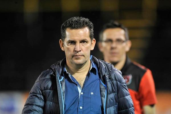 Al técnico Javier Delgado le sorprendió el nombramiento del árbitro Keylor Herrera, en el partido ante Herediano, por su juventud.