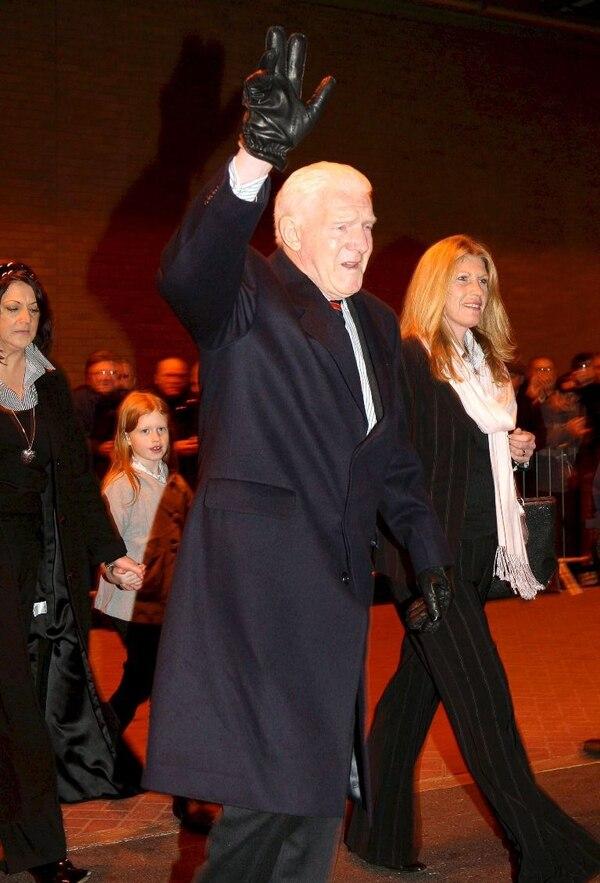 Bill Foulkes tenía 81 años. La imagen corresponde al 6 de febrero del 2008 en Manchester.