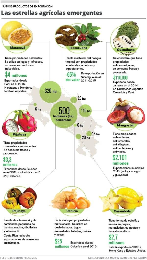 Las estrellas agrícolas emergentes