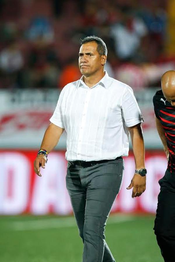 Hernán Torres, técnico de Alajuelense.