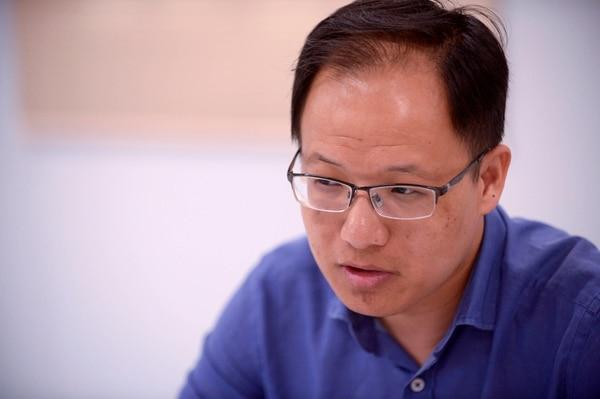 Wang Lei Lei, subgerente general de CHEC en Costa Rica, dio detalles a 'La Nación' sobre el inicio de las obras, el pasado jueves, en Siquirres, Limón