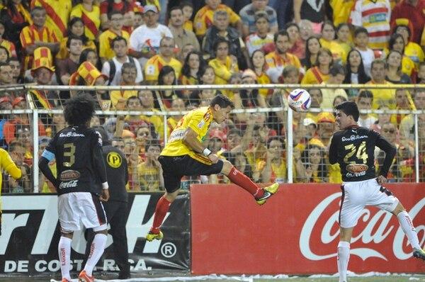Minor Díaz, delantero de Herediano, asegura que lucharán para conseguir el título.