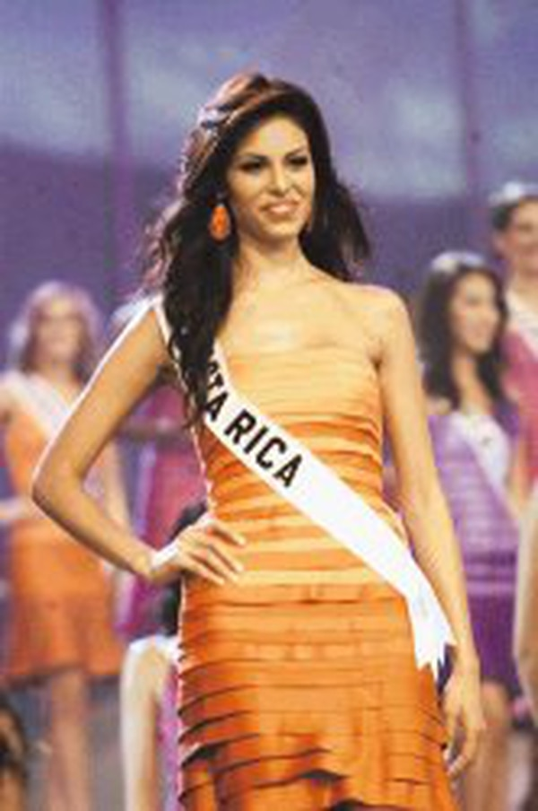 Nancy Soto fue parte del Miss Universo 2004. Foto: Archivo.