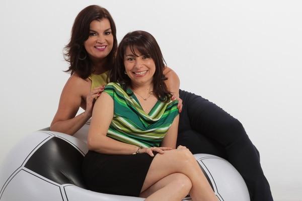 Con aires mundialistas. Con amplia experiencia en deportes, Adriana Durán y Sandra Zumbado comenzarán su programa en enero. Camino al Mundial para LN.