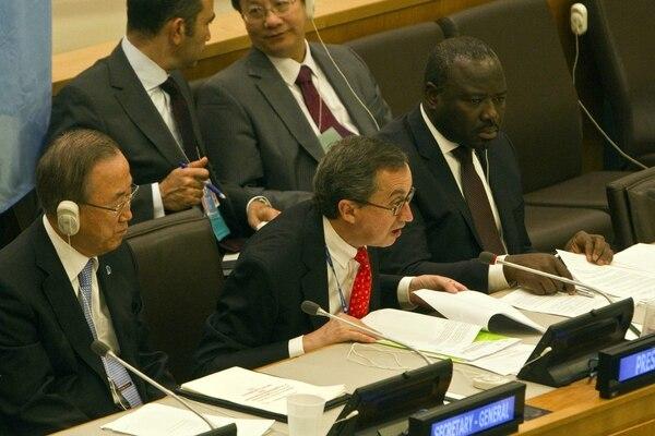 Es la primera resolución que adopta el máximo órgano de la ONU sobre Siria desde el inicio del conflicto en ese país en marzo de 2011.
