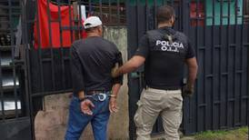 Policía captura a cuatro individuos por matar durante asalto a guarda de casino en San José
