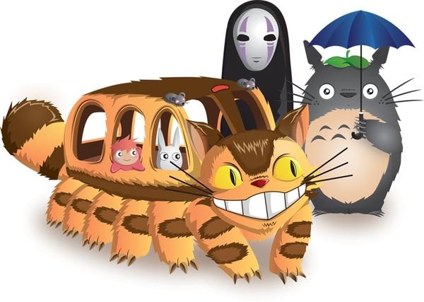 Los seres y mundos de Studio Ghibli inspiran el trabajo de miles de artistas Juan Manuel Orozco, joven diseñador.