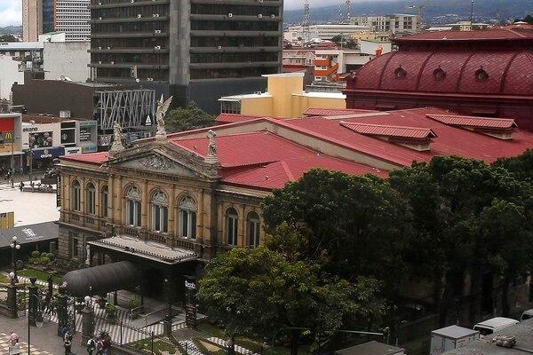 Teatro Nacional - fachada