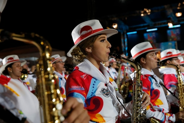 La Banda Municipal de Zarcero estará en el Desfile de las Rosas en enero del 2020. Foto: Mayela López.