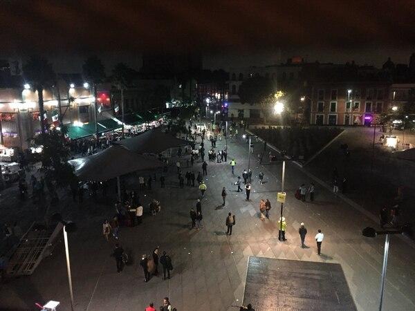 Tiroteo en la popular Plaza Garibaldi deja tres personas muertas y siete heridas en Ciudad de México. Tomada de Twitter.