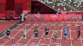 Gerald Drummond terminó sétimo en su serie de clasificación en los Juegos Olímpicos