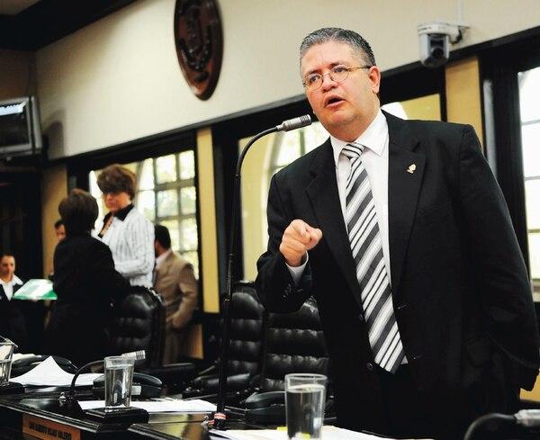 Rodolfo Sotomayor, exdiputado del PUSC (2010 al 2014). | ARCHIVO