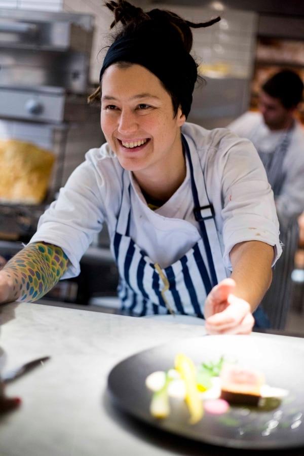 Carolina Bazán, Latin America's Best Female Chef 2019.