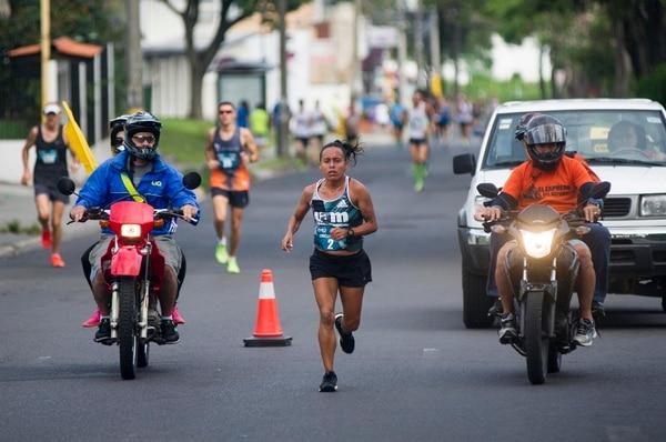 Méndez, imponente, ganó ayer en Mi Meta Lafise. | JOSÉ CORDERO