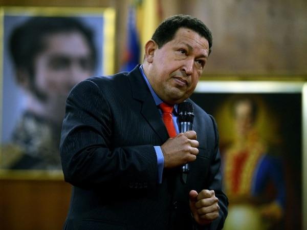 Chávez habló hoy con la prensa en Caracas. | AFP