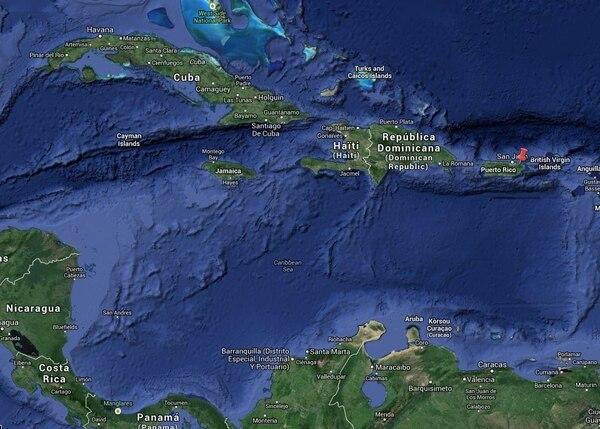 El Servicio Meteorológico de los Estados Unidos reportó la formación de la sétima tormenta tropical de la temporada al sur de Puerto Rico, en el mar Caribe.