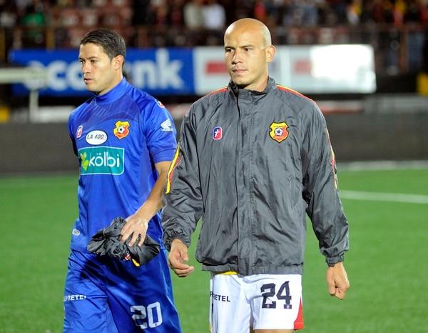 Anllel Porras anotó solo un gol en el actual certamen, durante un compromiso de Herediano ante la UCR.