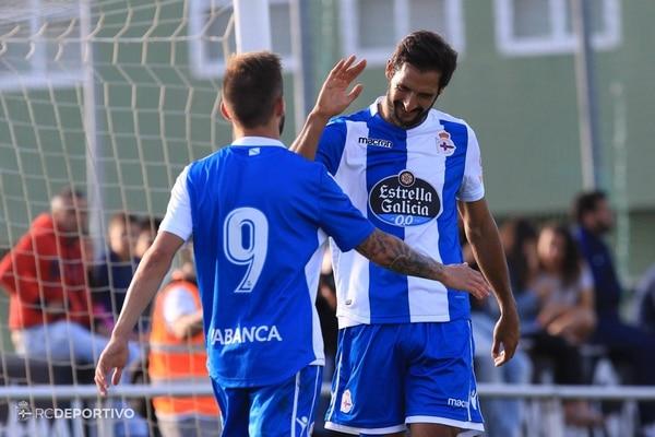 Celso Borges marcó uno de los seis goles del Deportvo La Coruña