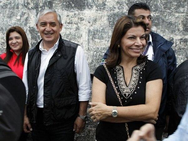La presidenta Laura Chinchilla viajó el pasado 20 de diciembre a Guatemala para conmemorar el fin de una era del calendario maya. Anunció que permanecerá allá varios días para visitar otros lugares. | EFE