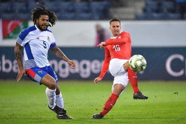 Román Torres, defensor canalero, fue una de las principales figuras de Panamá en el Mundial de Rusia 2018, en donde Panamá finalizó la fase de grupos con tres derrotas.
