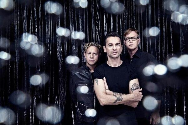 Dave Gahan, Martin L. Gore y Andrew Fletcher son los intengrantes que mantienen vivo al grupo inglés 34 años después de su formación.