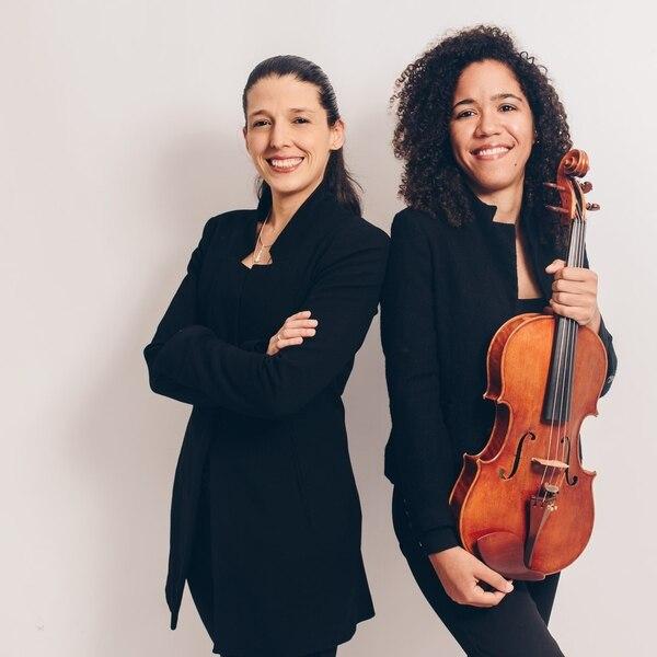 Gabriela Mora Fallas y la violista Winnie Camila Berg serán protagonistas del concierto