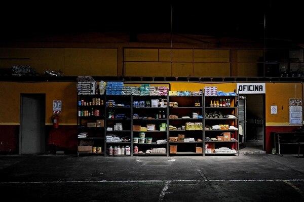 08/06/2017. Sabana Sur, Consejo Nacional de Producción. Alimentos que se encuentran en las bodegas del Consejo Nacional de Producción, CNP. Fotos Melissa Fernández Silva