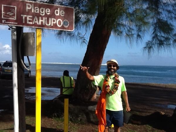 Jaime Umaña Masís en Nueva Caledonia.