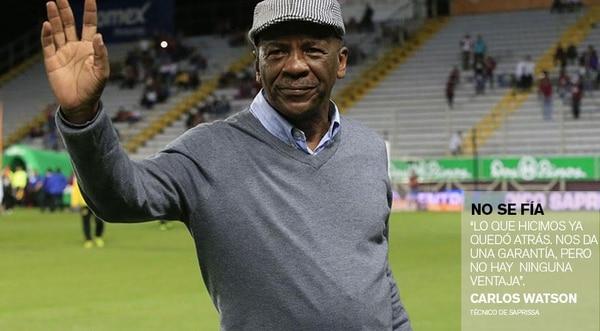 Carlos Watson, técnico de Saprissa.