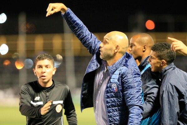 Luis Marín, técnico de San Carlos. Foto: Rafael Pacheco