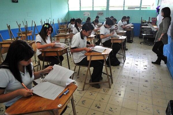 El Ministerio de Educación dará dos horas para completar el ejercicio. La extensión mínima del texto es de 300 palabras. | JORGE CASTILLO