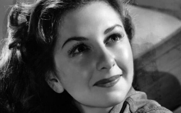 Joan Lorring fue figura de la cinta 'The Corn is Green' (1945).