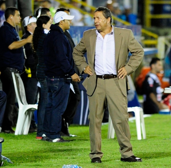 Marvin Solano, director técnico del Herediano. | GRACIELA SOLÍS