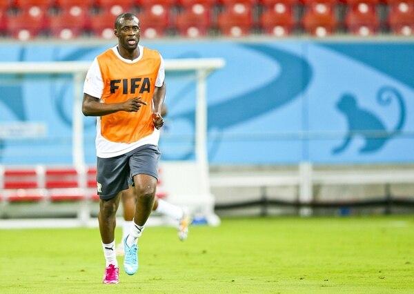 El talentoso Yaya Touré, astro del Manchester City, es la principal duda en la titular del equipo de Costa de Marfil, que debuta ante Japón. | EFE