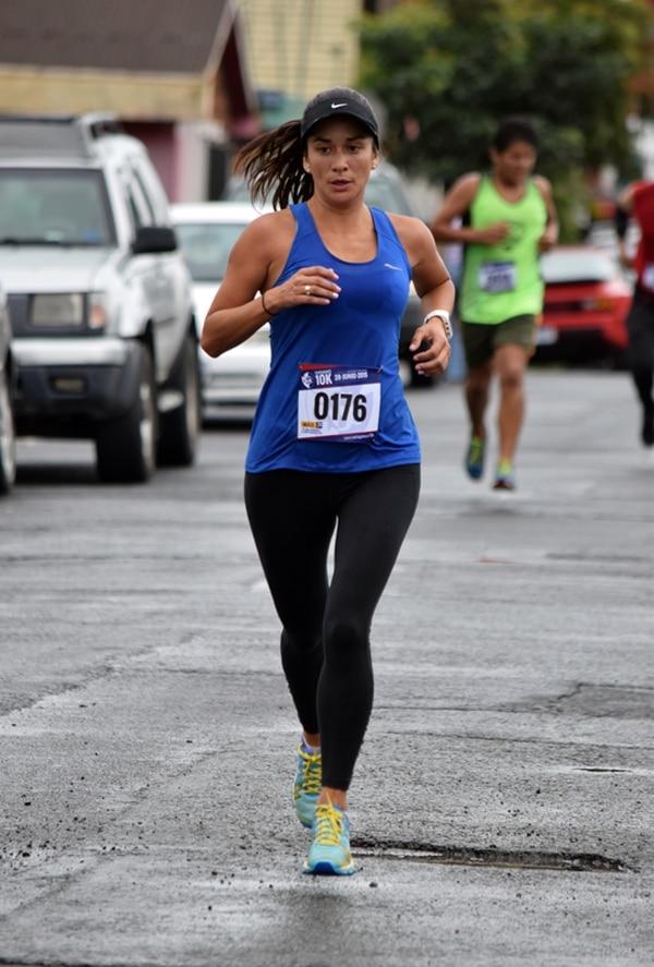 Guiselle Quesada fue la mejor en seis kilómetros. | ROBERT VINDAS