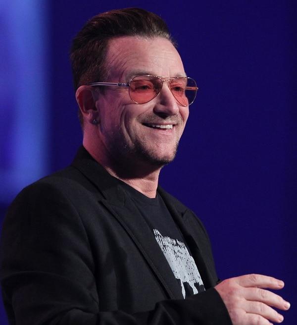 Paul David Hewson (más conocido por su nombre artístico Bono) es el líder del grupo de rock alternativo irlandés U2