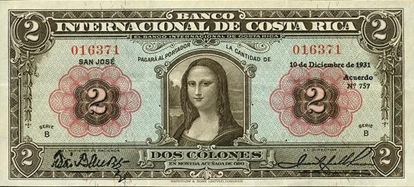 En 1931 El Banco Internacional De Costa Rica Hoy Nacional Emitió Un